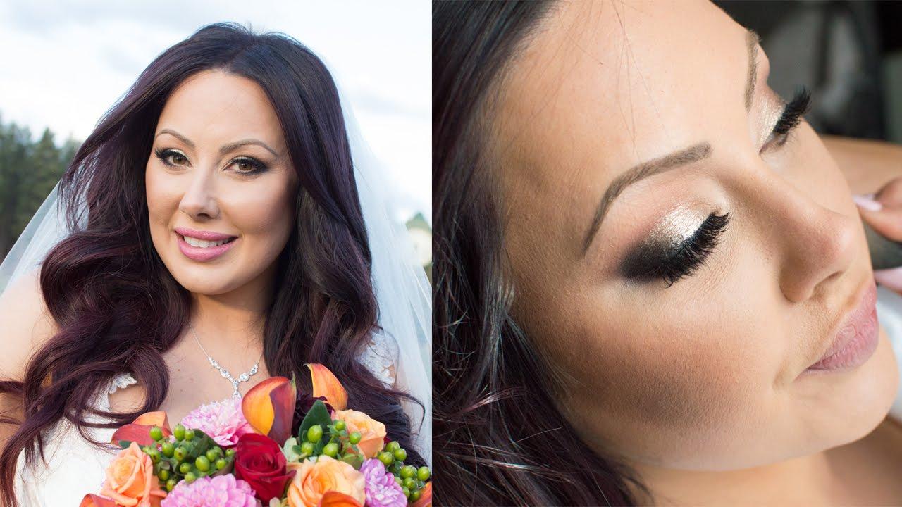 Marlenau0026#39;s Wedding Makeup : Makeup Geek - YouTube