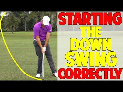 How To Start The Downswing In Golf