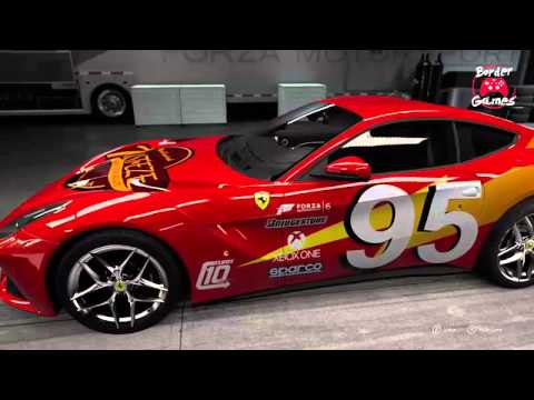 forza 6 ferrari lightning mcqueen cars movie youtube. Black Bedroom Furniture Sets. Home Design Ideas