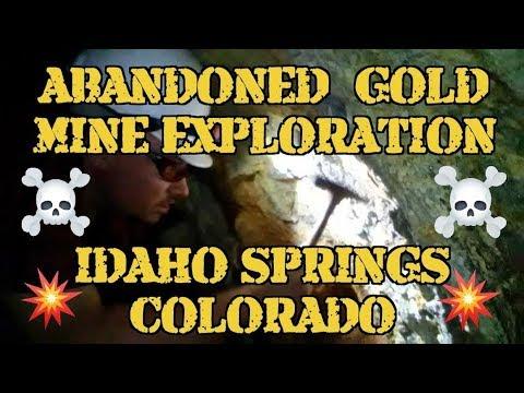 Abandoned Gold Mine Exploration - Colorado Gold Mining - Idaho Springs, Colorado