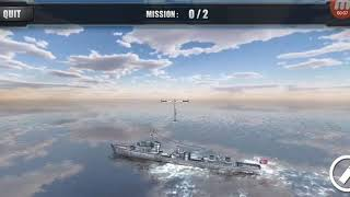 Silent Warship Hunter- Sea Battle Simulation Game Android gameplay