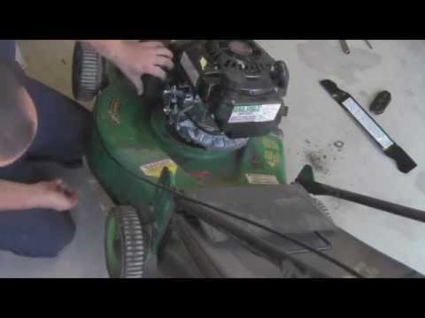 Harbor Freight 5.5HP Mower Motor Predator: Install and First Run