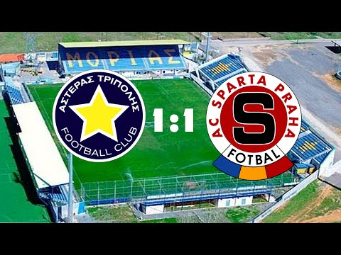 Asteras Tripolis - Sparta Praha --- Evropská Liga (1:1)