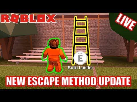 NEW ESCAPE UPDATE Coming to Jailbreak!!! FREE JAILBREAK CASH    🔴 Roblox Jailbreak LIVE!