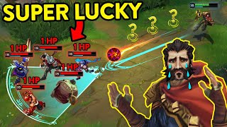 ALL PLANNED 😉 Calculated or Luck Compilation (League of Legends)