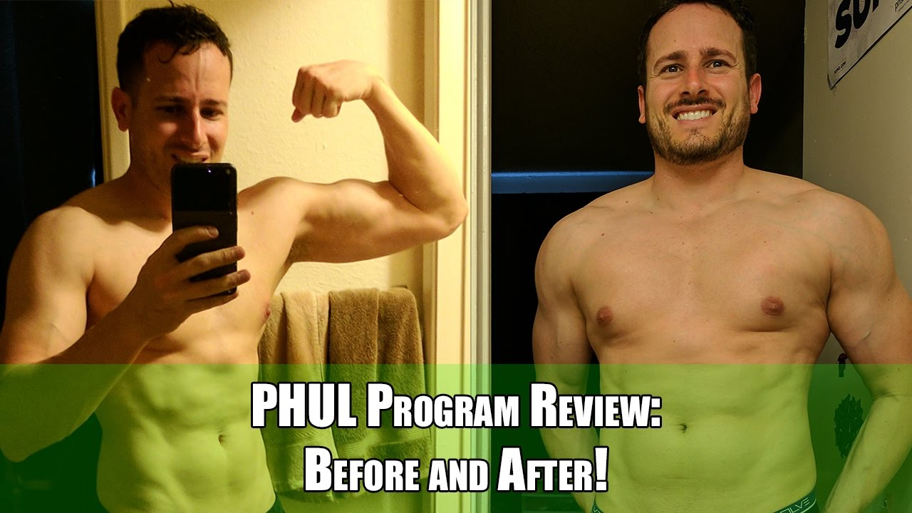 Full Review of PHUL Program While Bulking With Tips for Beginners