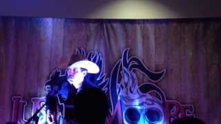 justin moore sings i m a dinosaur by hank williams jr acoustic