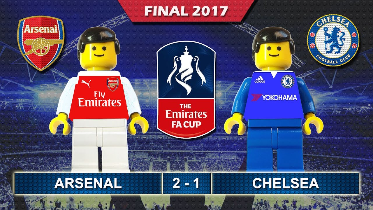 Download Emirates FA Cup Final 2017 • Arsenal vs Chelsea • goal highlights Lego Football film