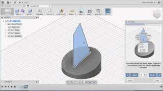 Autodesk Fusion 360 - Tutorial 1: Basic Design Step-by-Step tutorials