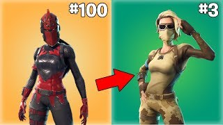 "Most ""Worth It Skins"" in Fortnite 