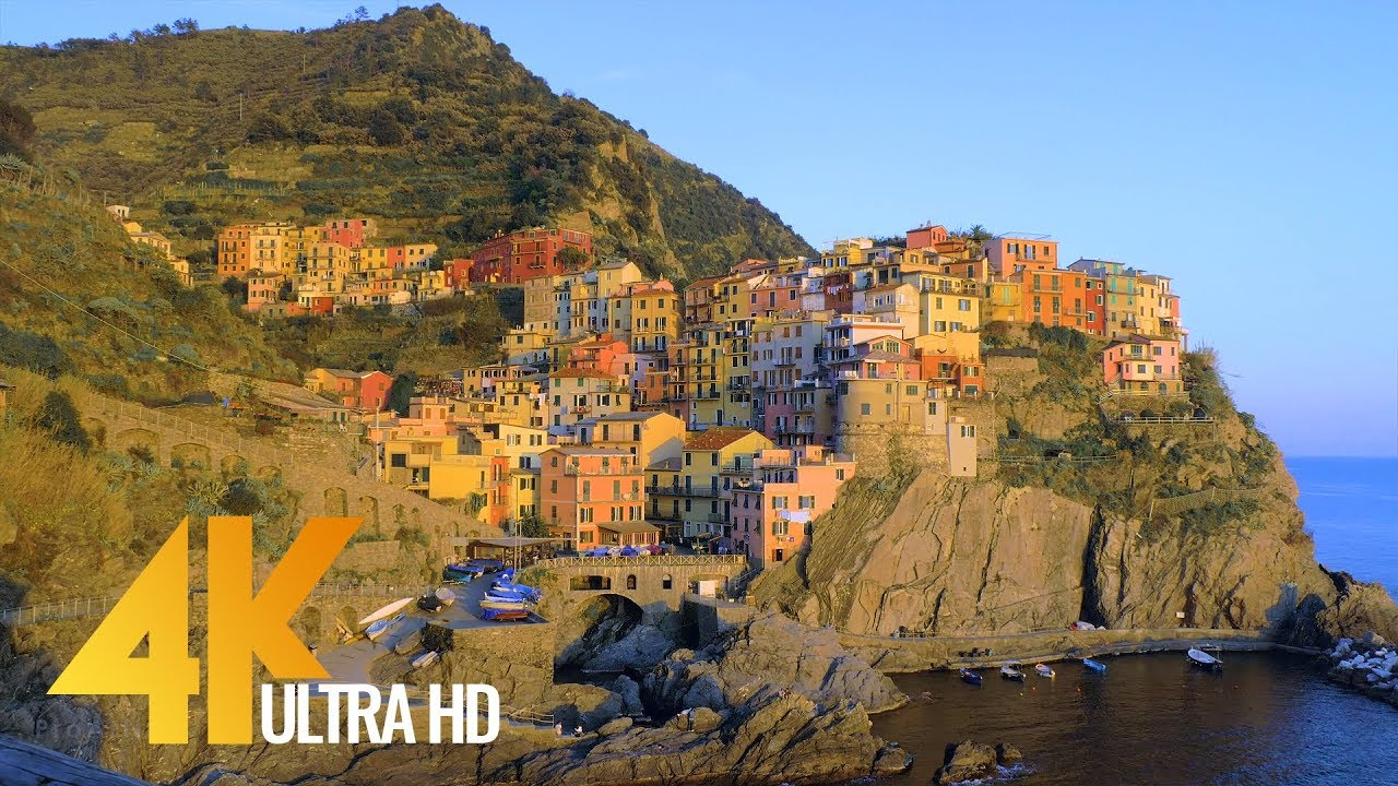 Fabulous Italy: Cinque Terre in 4K | Town Life Documentary Film  Part 4