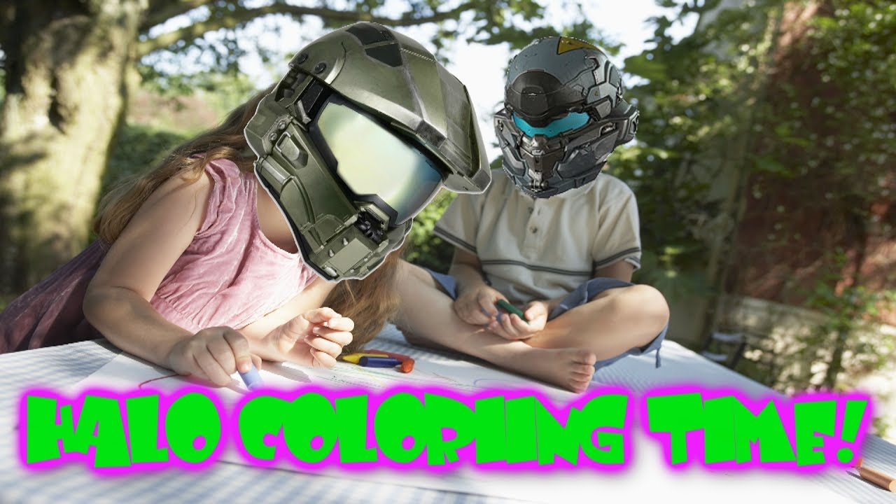 Halo Adult Coloring Book (News) - YouTube