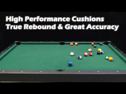 MD Sports Legend Billiard Table YouTube - Md pool table