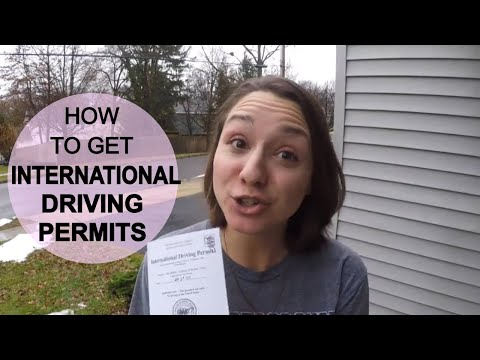 International drivers license germany usa