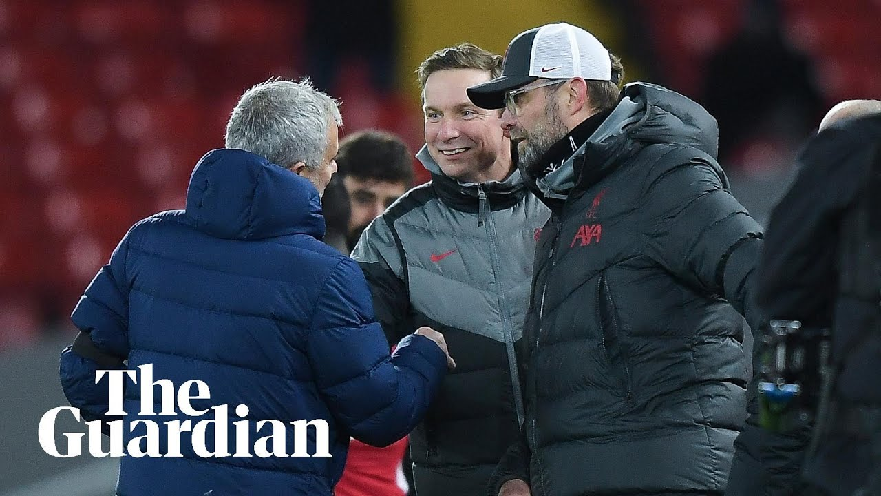 Mourinho says he told Klopp 'the best team lost' during touchline exchange - Guardian Football