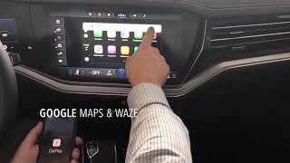 CarPlay для Apple [VW TOUAREG]