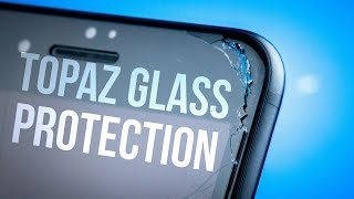 WinnerGear Topaz Glass Screen Protector for iPhone 7 Plus - Review - Survives a hammer smash?