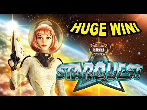HUGE WIN on Star Quest Slot - £1 Bet