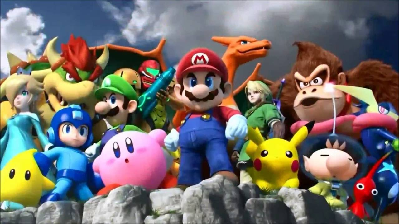 Marvel vs Capcom 3 Super Smash Bros  Wii U opening
