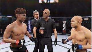 UFC 최두호 vs 한경 같은 한국인 선수를 플라잉 암바로 피니쉬 시키는 최두호!