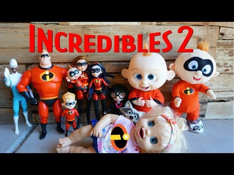 BABY ALIVE Introduces New Incredibles 2 Action Figurines!