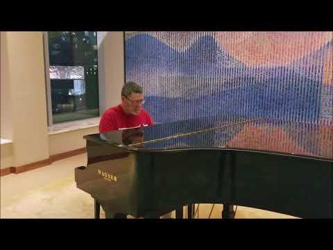Lobby Piano, Hyatt Place Dongmen, Shenzhen China