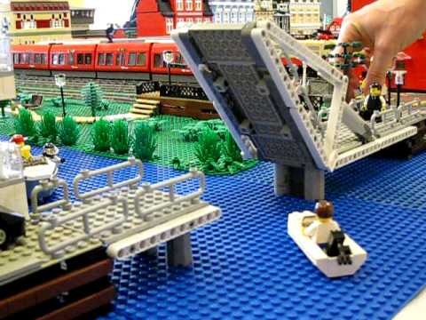 how to build a brridge ith lego