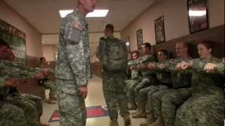 "U.S. Army National Guard Instructors and Warriors discuss ""The Gaun..."