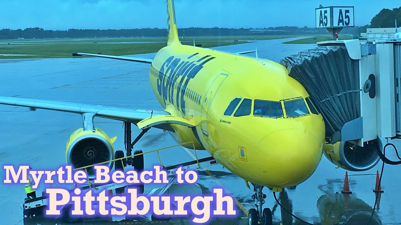 Airlines Pittsburgh To Myrtle Beach