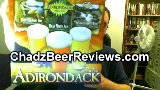 Adirondack Brewery Headwater Hefe, Dirty Blonde Ale, And Bear Naked Ale | Chad'z Beer Reviews #531