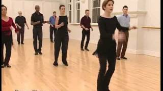 Salsa Basic Crossover Steps danced to music 18/22