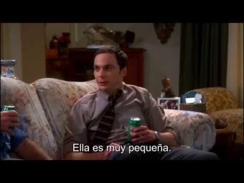 La Teoria del Big Bang Sheldon bebe cerveza MUY gracioso............!!!!!!