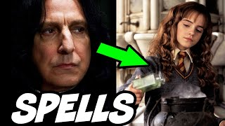 How Snape Made Sectumsempra and HOW Spells are Created - Harry Potter Theory