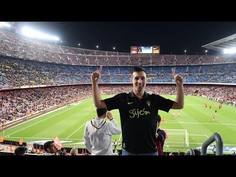 Un día en el Camp Nou con Spursito y xBuyer | FC Barcelona 6-1 Sporting