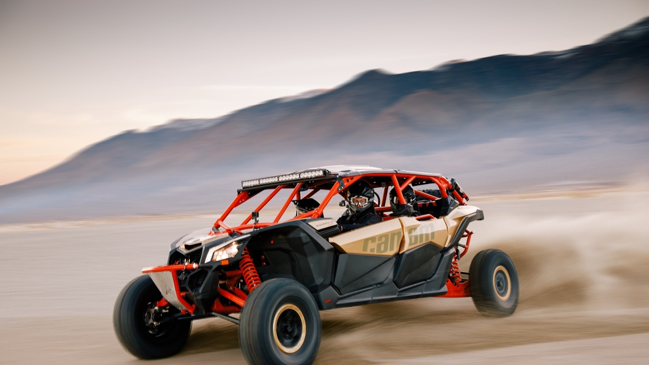 Can Am Utv >> 2017 Can-Am Maverick X3 Max. - YouTube