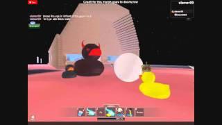 Eye kills evil ducks (roblox) une vidéo épique canard