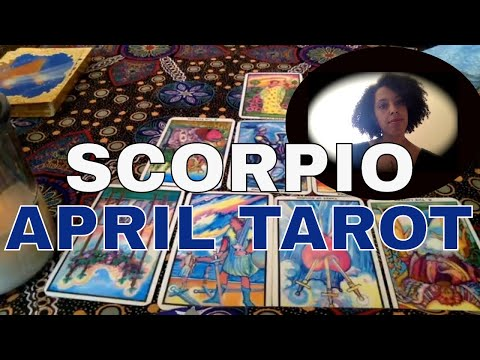 SCORPIO : APRIL MONTHLY TAROT:  SHEDDING UNNECESSARY WEIGHT