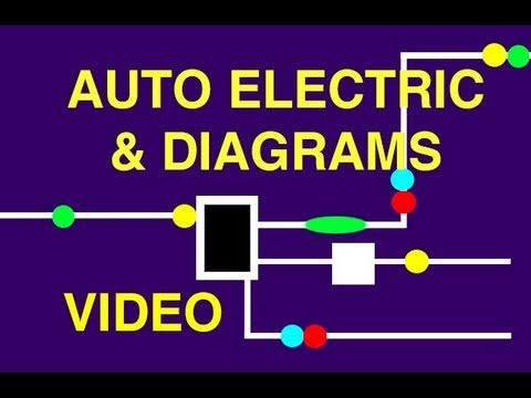 automotive electric wiring diagrams youtube rh youtube com Radio Wiring Diagram Trailer Wiring Diagram