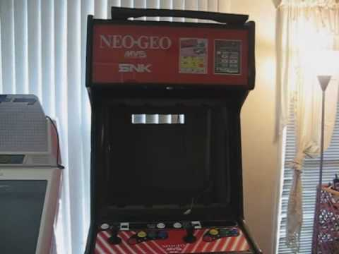 Installing A New Monitor For My Neo Geo Arcade Cabinet Part 1 ...
