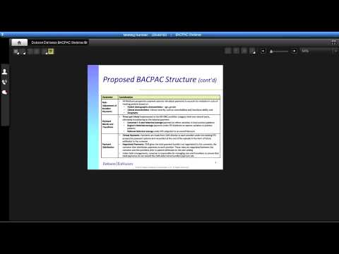 Bundling and Coordinating Post-Acute Care (BACPAC) Analysis Webinar