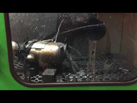 BMW dirty DPF cleaning by DPF repair and cleaning Hull