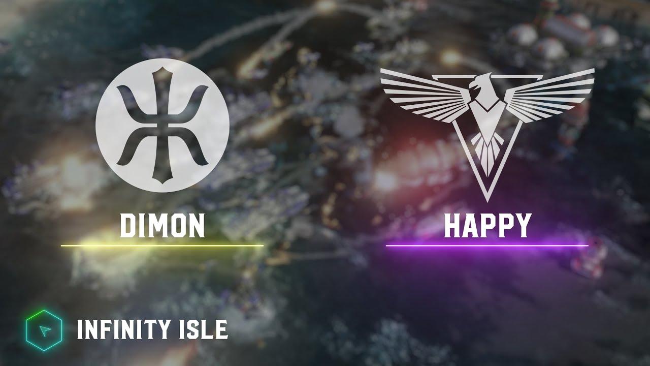 Dimon(E) vs Happy(A) - Infinity Isle - Red Alert 3