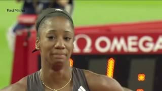 25 Kendra Harrison 12 20 New World Record in Women's 100m Hurdles   London DL 2016