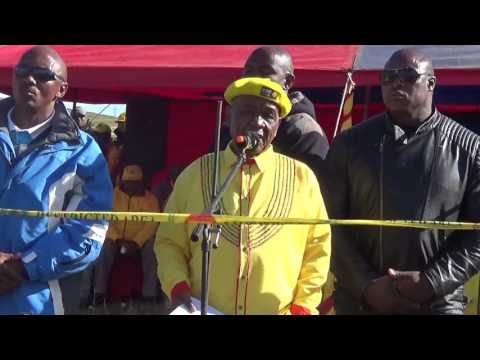 Dr Thabane ABC Leader - Qacha Tsoelike 26 March 2017 - Lesotho Politics