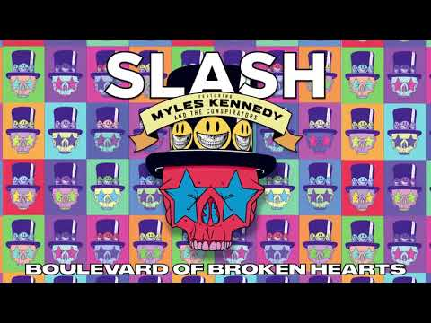 "SLASH FT. MYLES KENNEDY & THE CONSPIRATORS – ""Boulevard of Broken Hearts"" Full Song Static Video"