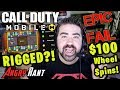Call of Duty Mobile $100 Spins are RIGGED & $250 DLC ...