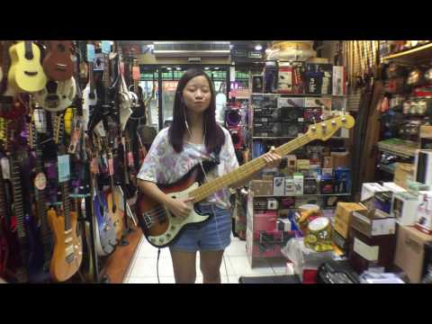 [Bass Cover] Mark Ronson - Uptown Funk ft. Bruno Mars COVER By 坊