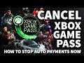 How to Cancel Xbox Game Pass – Where to Stop Auto Renew Payment on Game Pass Membership