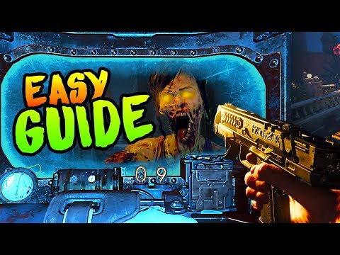 DEAD OF THE NIGHT: HOW TO BUILD THE SHIELD (*ALL* LOCATIONS EASY SHIELD GUIDE Black Ops 4 Zombies)