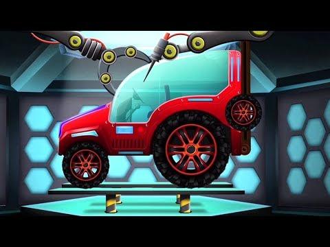 модификация трактора, гараж | Tractor Modification Car Garage | Kids Tv Channel Russia